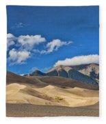 The Great Sand Dunes National Park 2 Fleece Blanket
