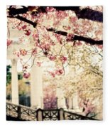 Grecian Spring Fleece Blanket