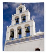 Greek Church Bells Fleece Blanket