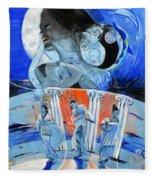 Greek Goddesses Fleece Blanket