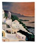 Greek Isles Fleece Blanket