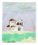 Greek Orthodox Church Fleece Blanket