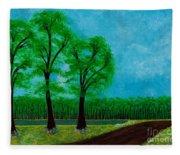 Green Acres Fleece Blanket