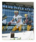 Green Bay Packers Lambeau Field Fleece Blanket