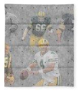 Green Bay Packers Legends Fleece Blanket