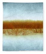 Green Bottom Swamp Fleece Blanket