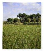 Green Cay Wetlands Fleece Blanket
