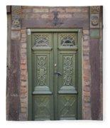 Green Door Ystad Fleece Blanket