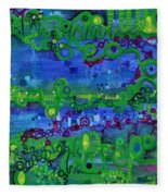 Green Functions Fleece Blanket