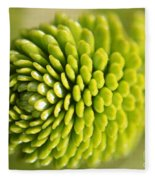 Green Inifinity Fleece Blanket
