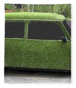 Green Mini Fleece Blanket