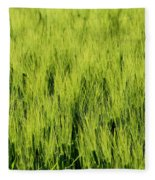 Green Nature Fleece Blanket