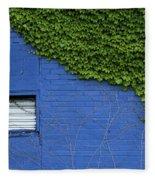 green on blue IMG 0964 Fleece Blanket
