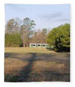 Green Stables - Lake Wheeler Road Fleece Blanket