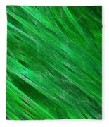 Green Streaming Fleece Blanket