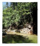 Green Waters Fleece Blanket