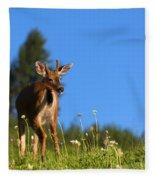 Greener Fields Fleece Blanket