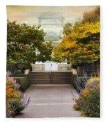 Greenhouse Garden Fleece Blanket