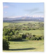 Greenland Ranch Fleece Blanket