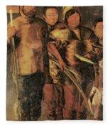Greenlanders, 1654 Fleece Blanket