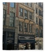 Greenwich Village Fleece Blanket