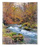 Greer Spring In Fall Fleece Blanket