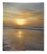 Greetings From Topsail Fleece Blanket