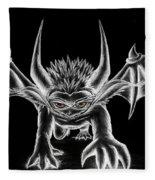 Grevil Chalk Fleece Blanket