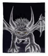Grevil Silvered Fleece Blanket