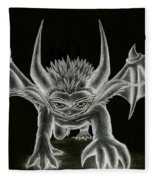 Grevil Statue Fleece Blanket
