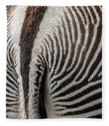 Grevy's Zebra 5 Fleece Blanket
