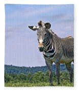 Grevy's Zebra Fleece Blanket