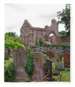 Grey Abbey Cemetery Fleece Blanket