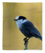 Grey Jay  Fleece Blanket