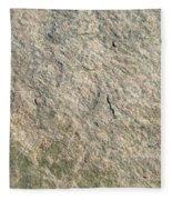Grey Rock Texture Fleece Blanket