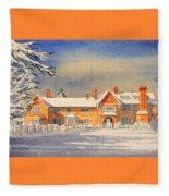 Griffin House School - Snowy Day Fleece Blanket