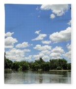 Griffin Lake Fleece Blanket
