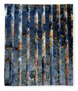 Grill Abstract Fleece Blanket