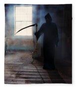 Grim Reaper Fleece Blanket