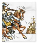 Grimm: Faithful John Fleece Blanket
