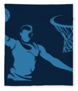 Grizzlies Shadow Player1 Fleece Blanket