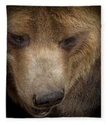 Grizzly Upclose Fleece Blanket