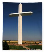Groom Texas Cross Fleece Blanket