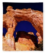 Grosvenor Arch Sunset Kodachrome Basin Fleece Blanket