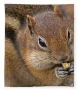 Ground Squirrel Fleece Blanket