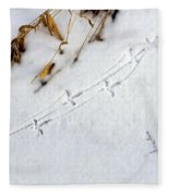 Grouse Tracks Fleece Blanket