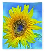 Growth Renewal And Transformation Fleece Blanket