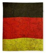 Grunge German Flag Fleece Blanket