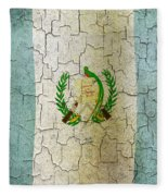 Grunge Guatemala Flag Fleece Blanket