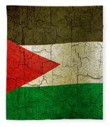 Grunge Jordan Flag Fleece Blanket